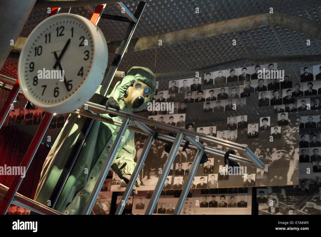 Kiev (Ukraine), museum of the Chernobyl nuclear disaster - Stock Image