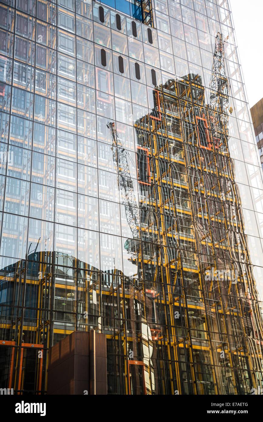 Leadenhall Building, Square Mile, City of London, UK - Stock Image