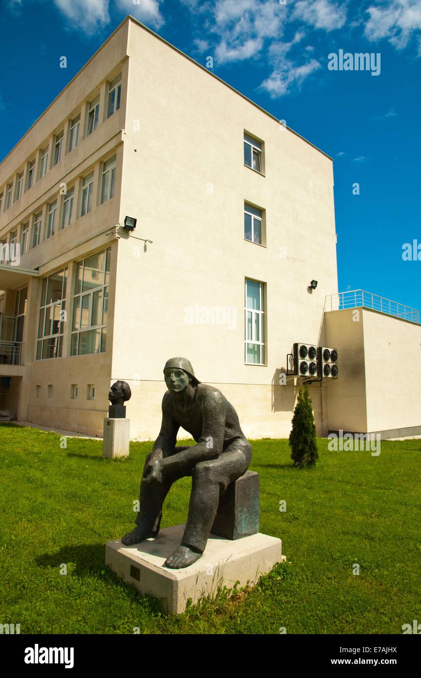 Museum of Socialist Art, Izgrev district, Sofia, Bulgaria, Europe - Stock Image