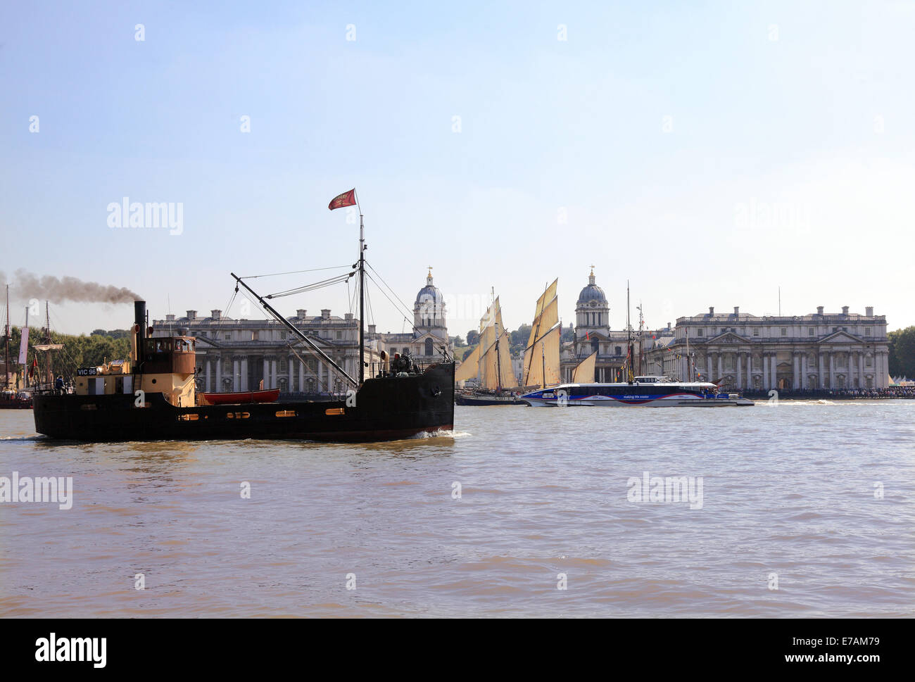 Greenwich Maritime Museum - Stock Image