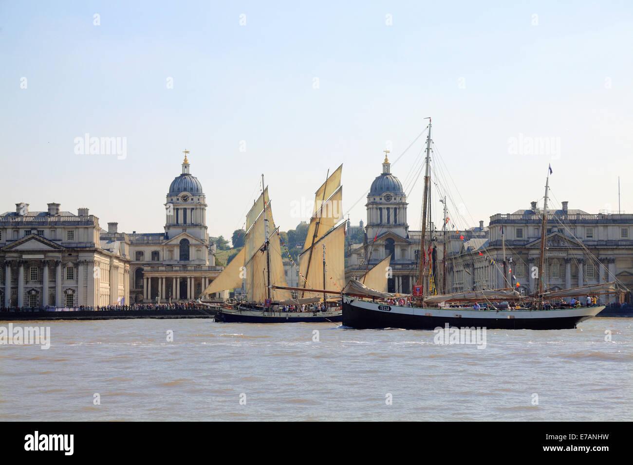 Greenwich Maritime Museum London - Stock Image
