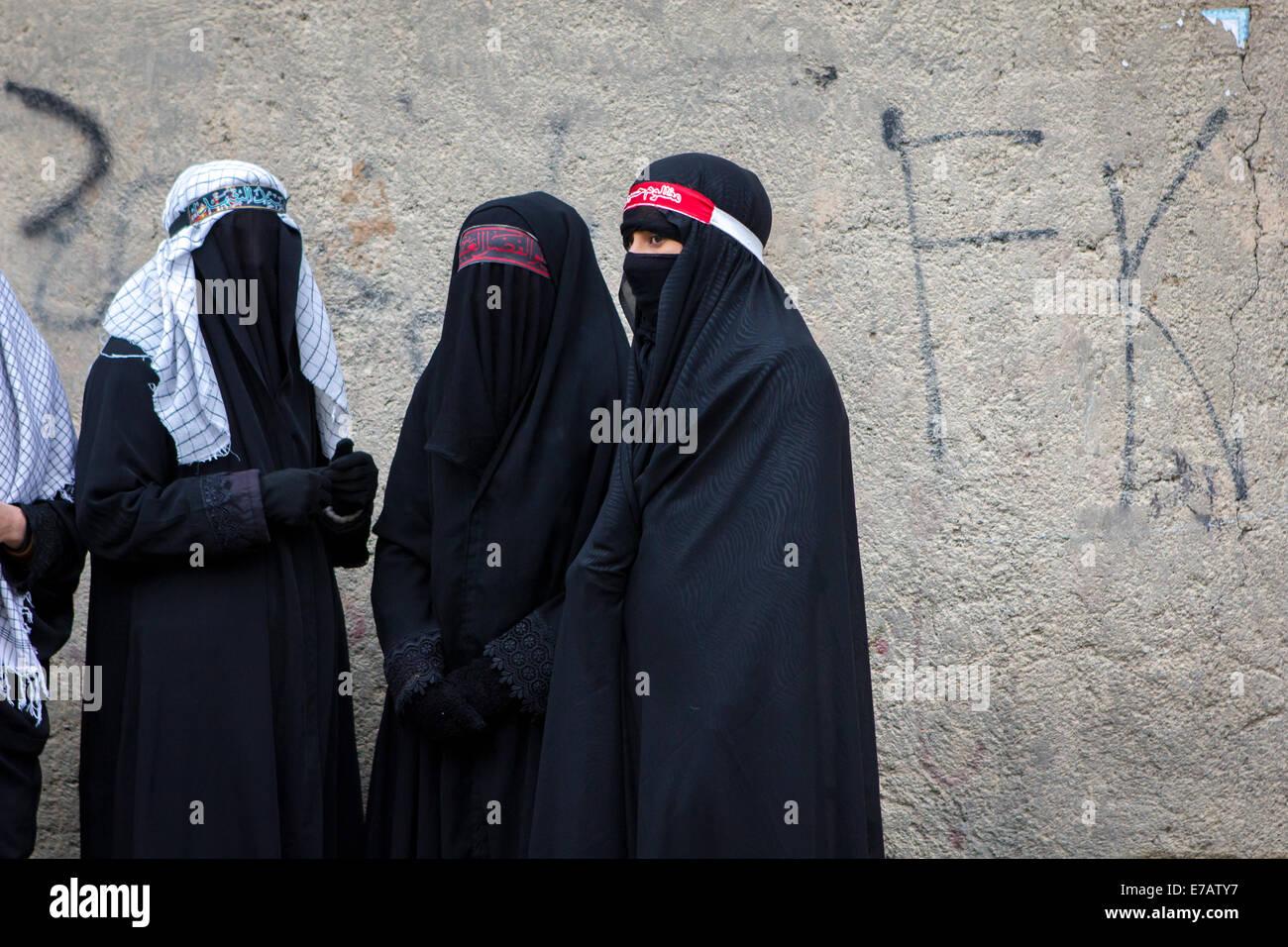 Why do Muslim women wear the chador?