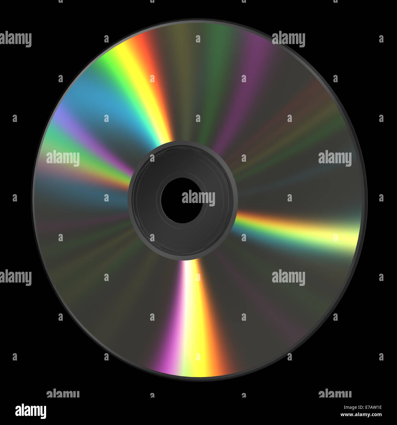 CD DVD Disk - Stock Image