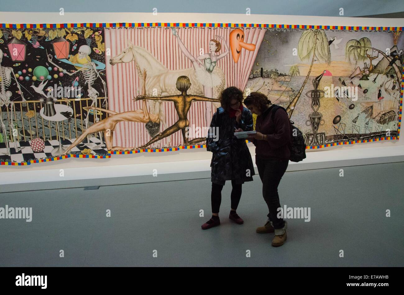 Venice Biennale 55th International Art Exhibition The Encyclopedic Palace at Giardini and Arsenale c - Stock Image