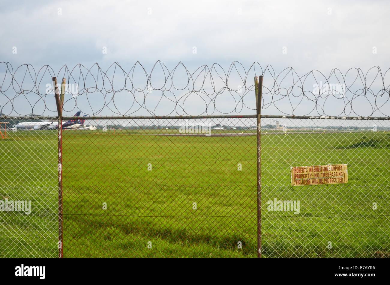 Roberts International Airport, Monrovia, Liberia - Stock Image