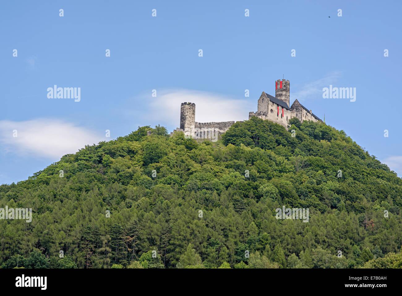 Bezdez castle Stock Photo
