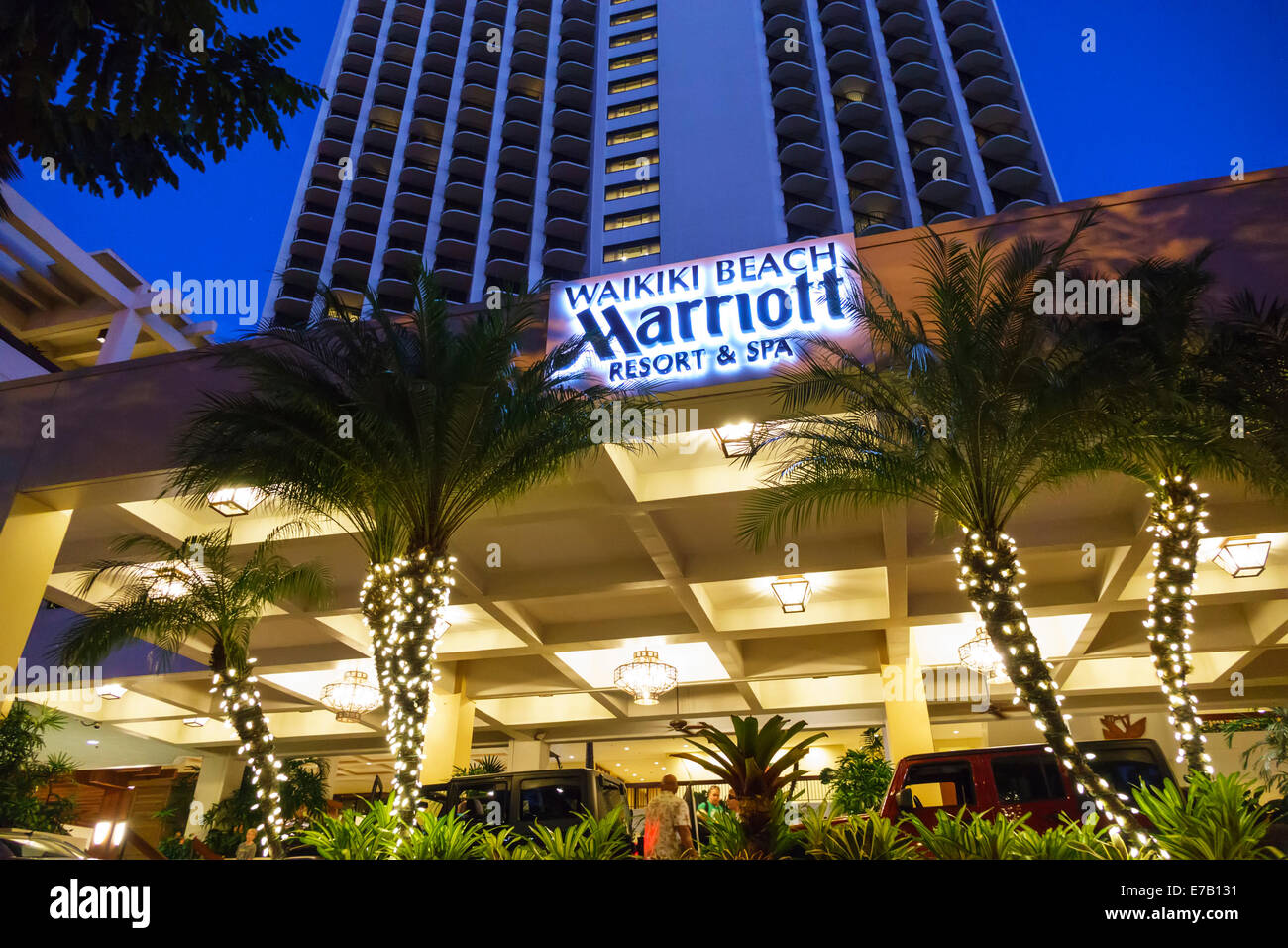 The Marriott Waikiki Beach Resort And Spa