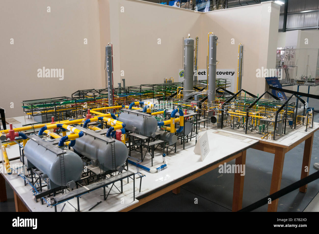 Elk203-5502 Canada, Alberta, Devon, Canadian Petroleum Discovery Center, model - Stock Image