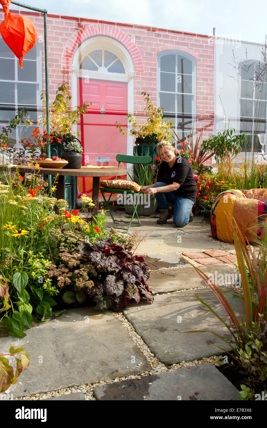 Harrogate, Yorkshire, UK. 11th Sept, 2014.  The Harrogate Annual Autumn Flower Show, Yorkshire Showground, ranked Stock Photo