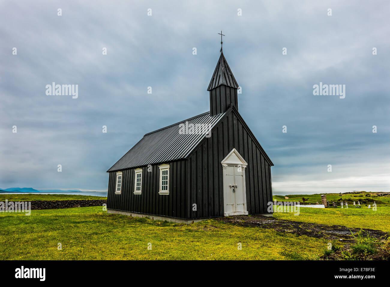 West Iceland / Snæfellsnes / Búðir - Stock Image