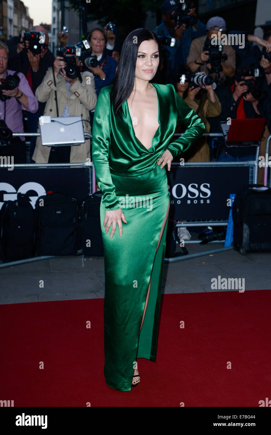 Jessie J arrives at the GQ Men of the Year Awards on 02/09/2014 at Royal Opera House, London. Persons pictured: - Stock Image