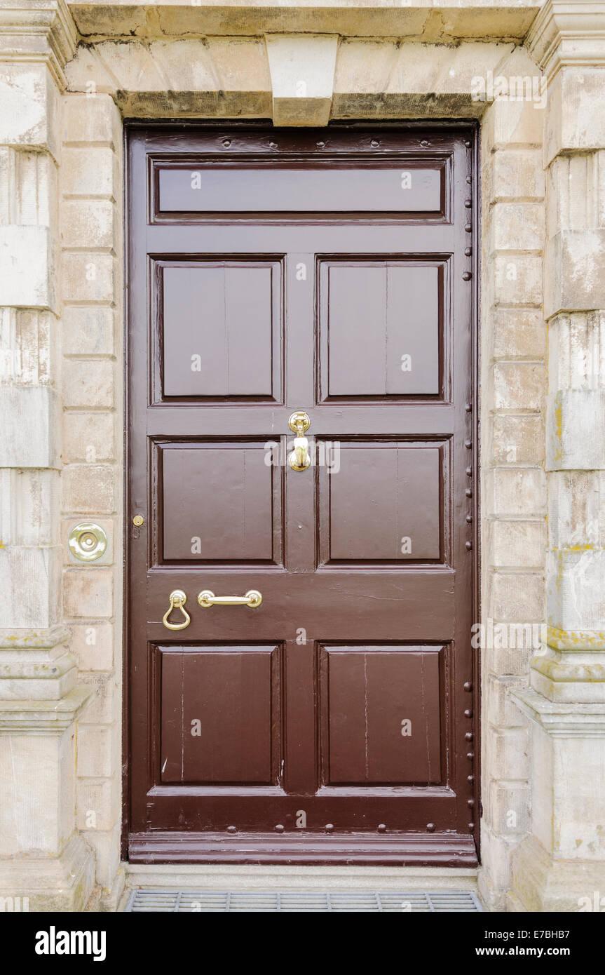 Brass Door Furniture Stock Photos Brass Door Furniture Stock