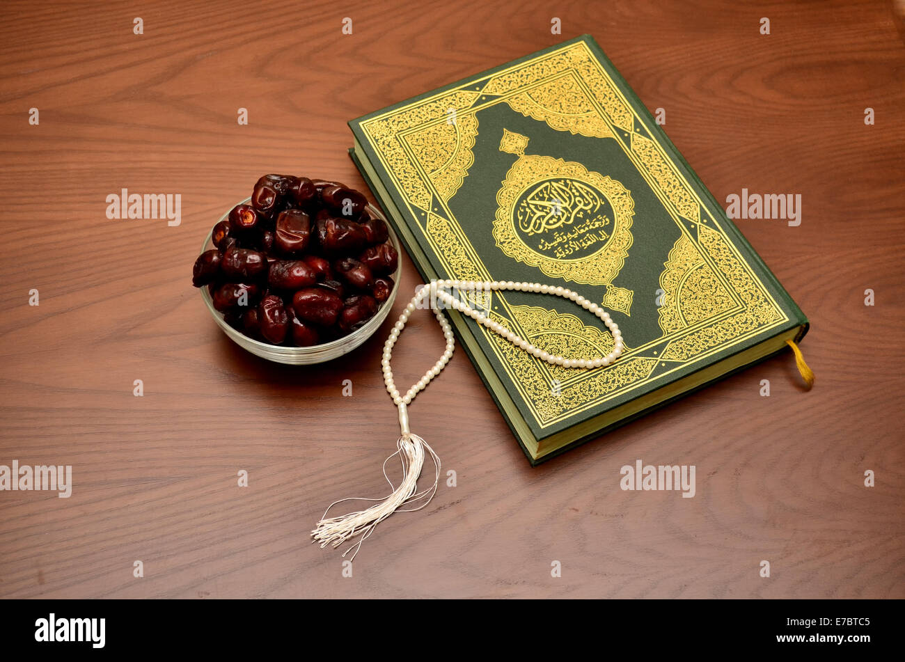 Quran - The Holy Book of Islam - Stock Image