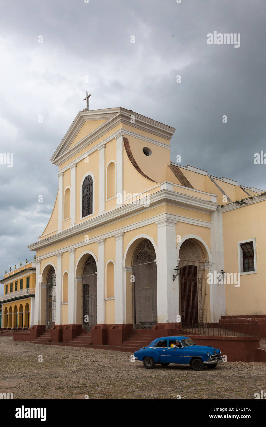 Church of the Holy Trinity, Trinidad, Cuba - Stock Image