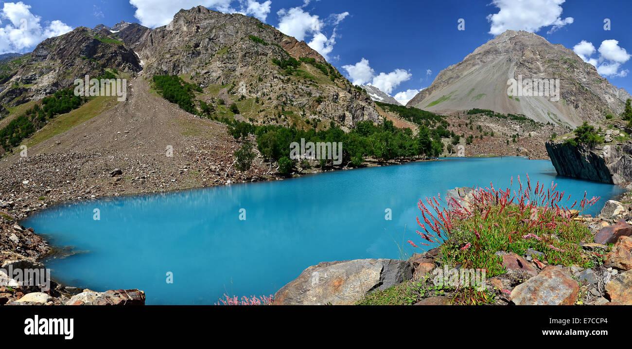 Naltar Lake, Gilgit Baltistan, Pakistan Stock Photo