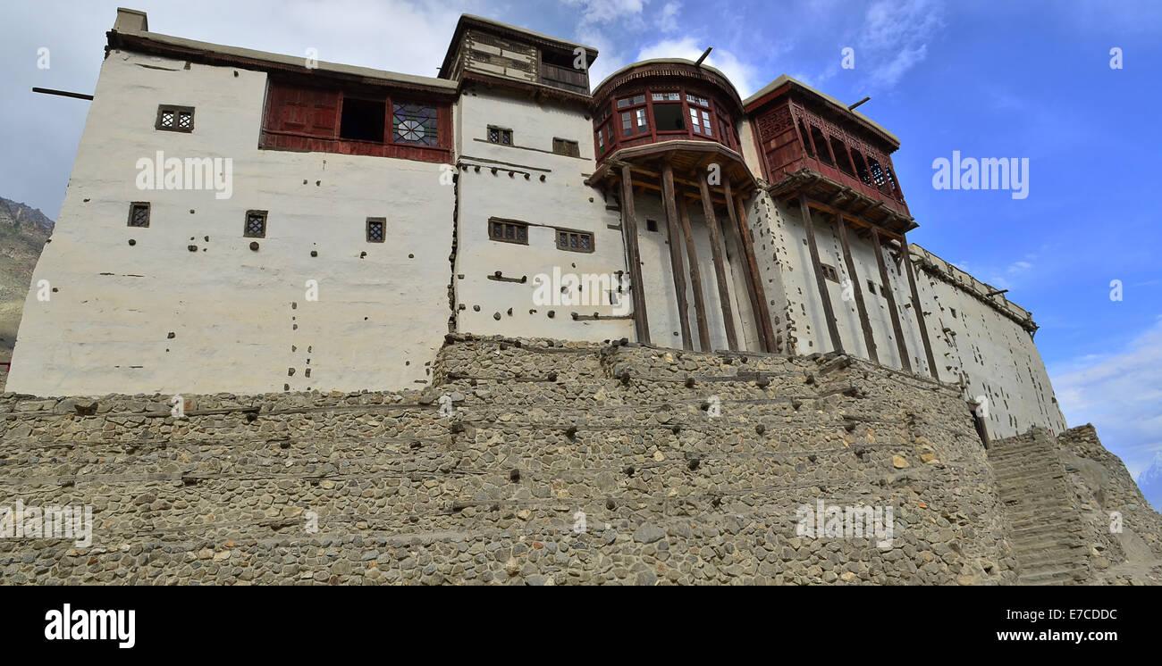 Baltit Fort, Hunza Valley, Gilgit-Baltistan, Northern Areas, Pakistan - Stock Image