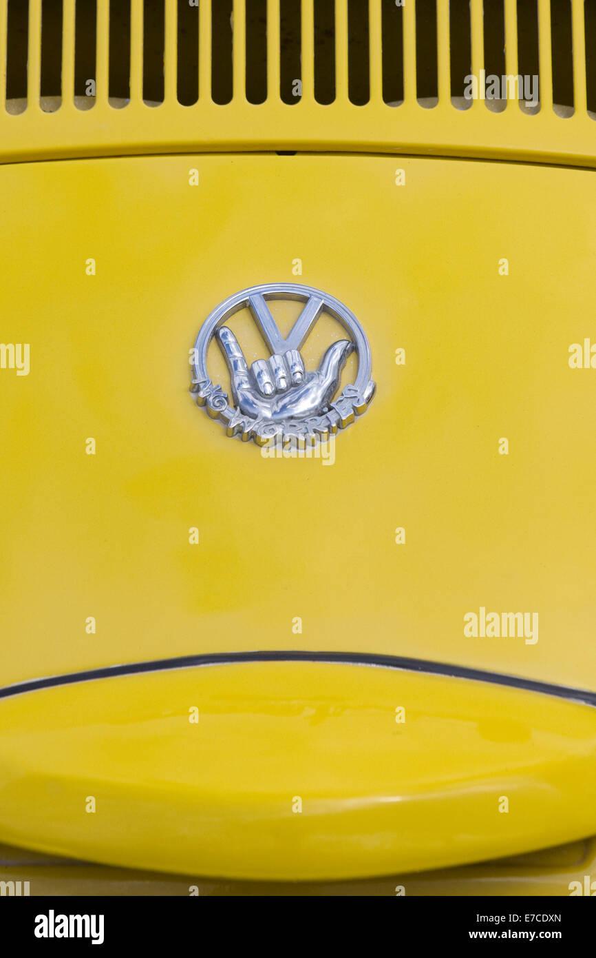 """VW Volkswagen Beetle """"NO Worries"""" abstract Stock Photo"""