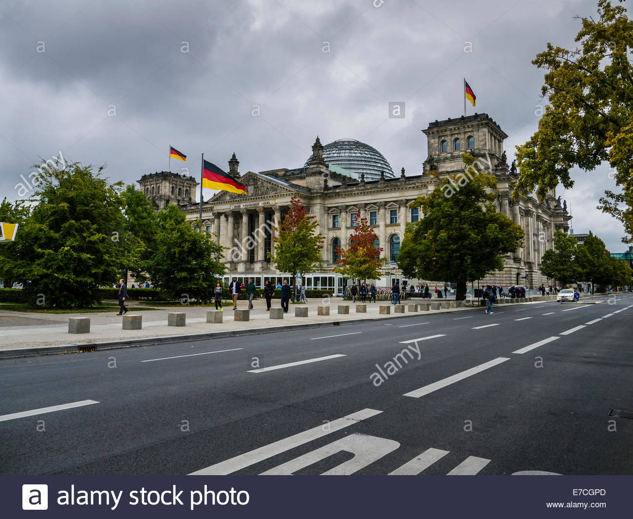 Berlin, Reichstag Germany - Stock Image