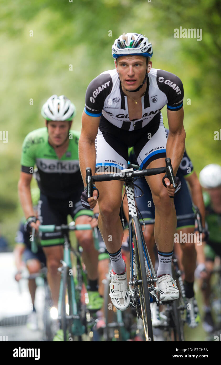 Marcel Kittel, 2014 Tour of Britain, stage 7 (Camberley to Brighton) - Stock Image