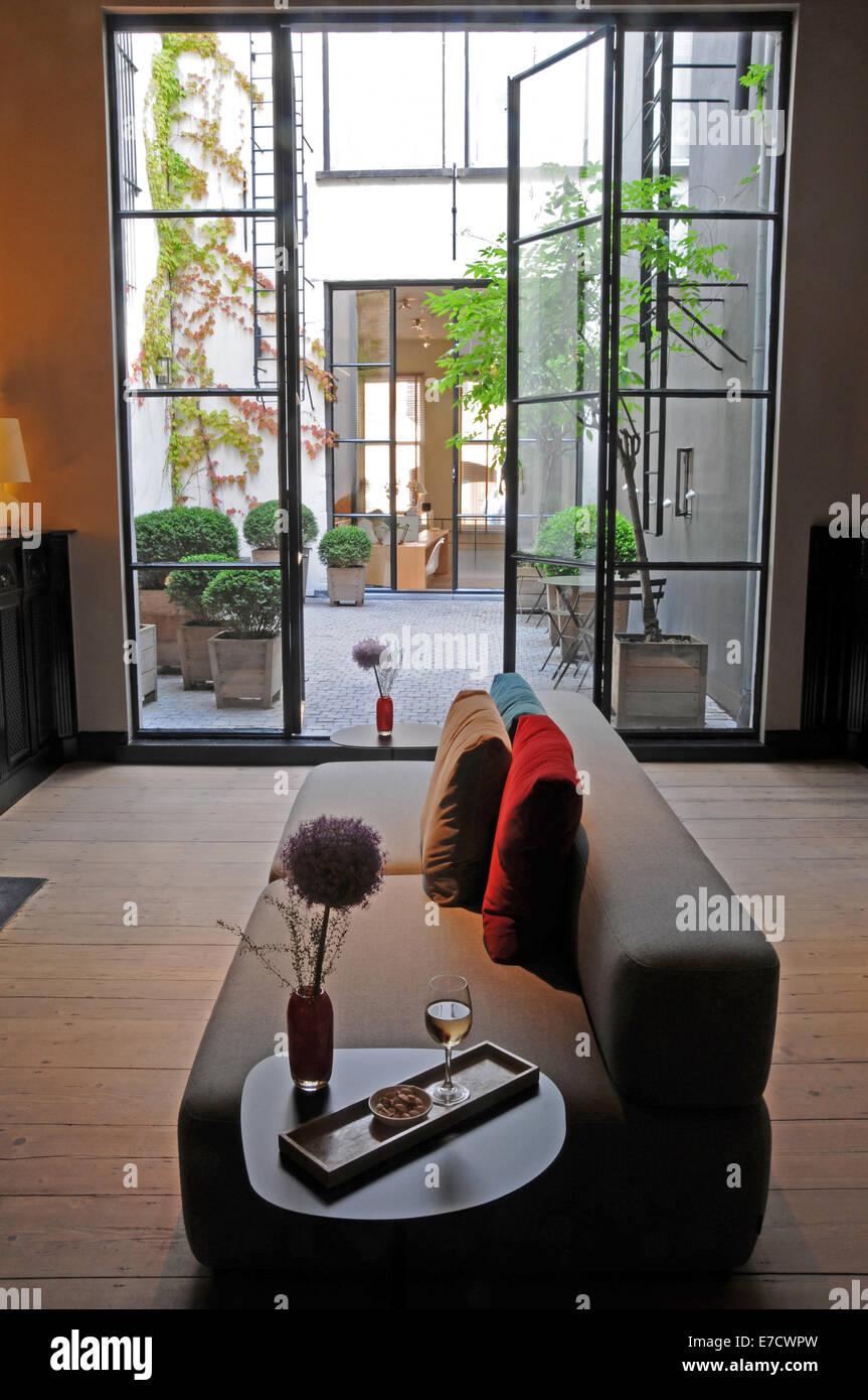 Hotel Julien Antwerp Belgium - Stock Image