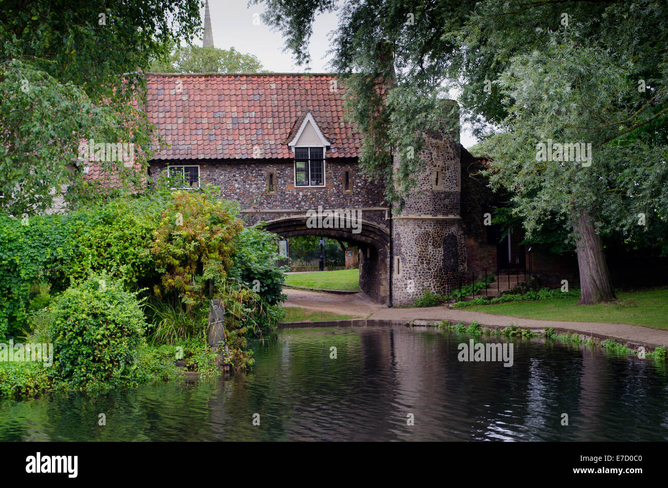 Pull's Ferry near to Ferry Lane, Norwich Stock Photo