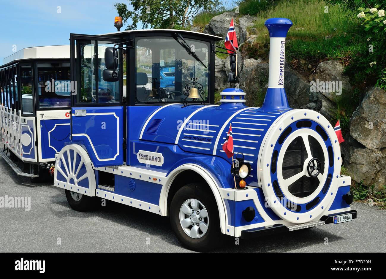 Land train. - Stock Image