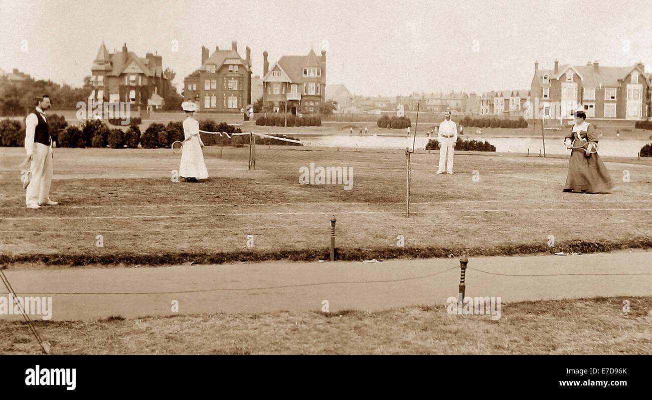 Southsea England early 1900s Stock Photo
