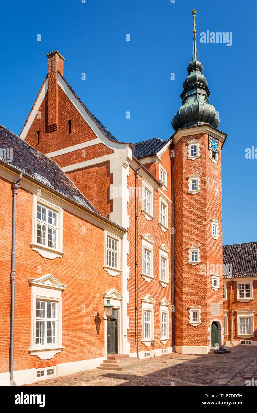 Jægerspris Castle, Jægerspris, Hornsherred, Denmark - Stock Image