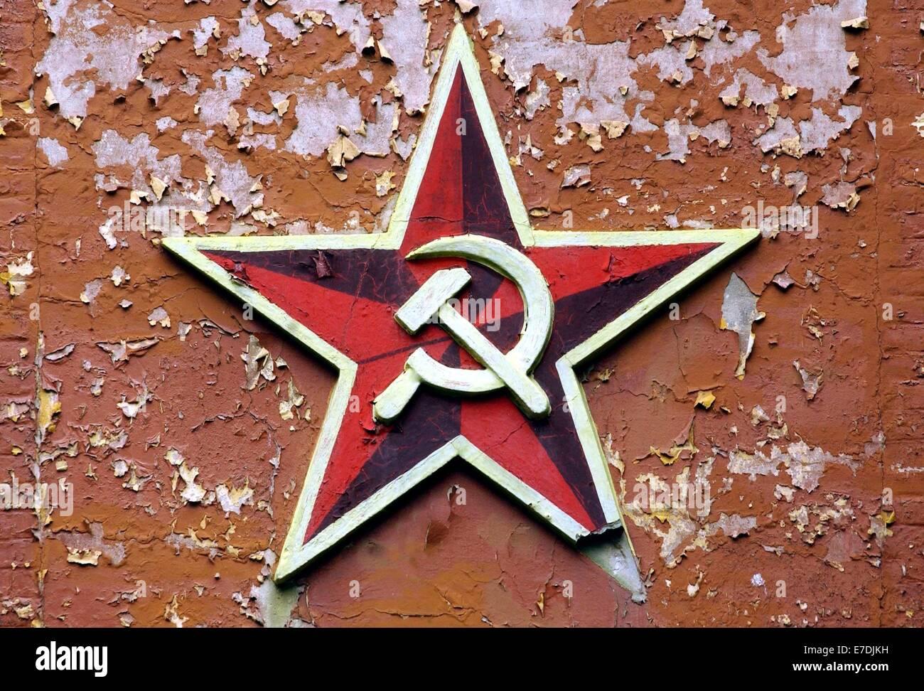 Soviet Red Star Hammer Stock Photos Soviet Red Star Hammer Stock