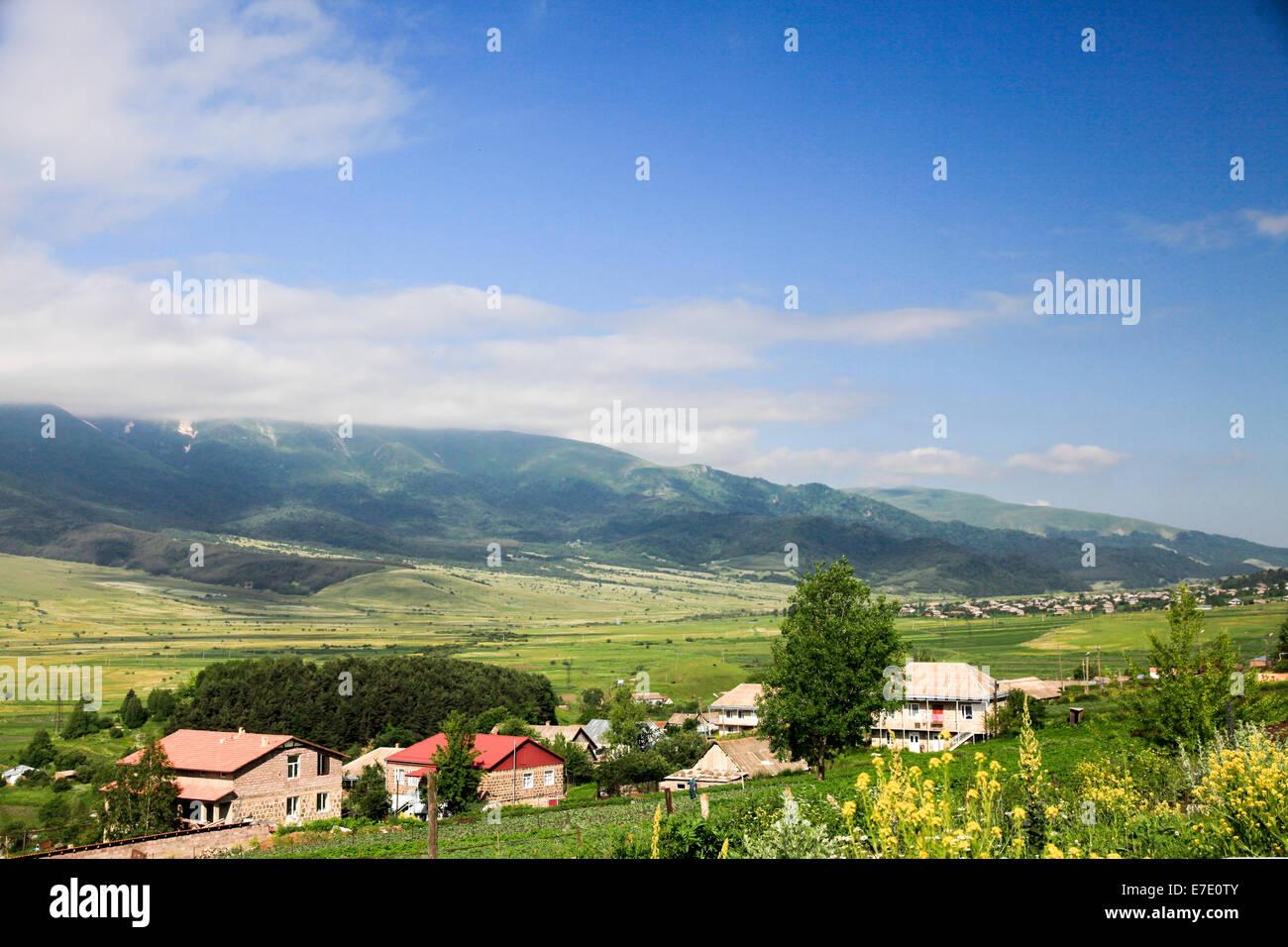 Armenian farmland - Stock Image