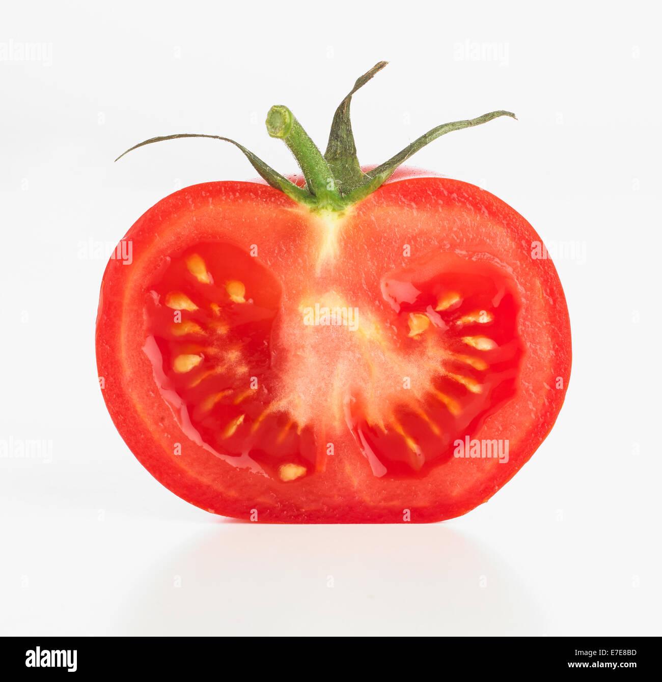 sliced tomato stock photo 73457985 alamy