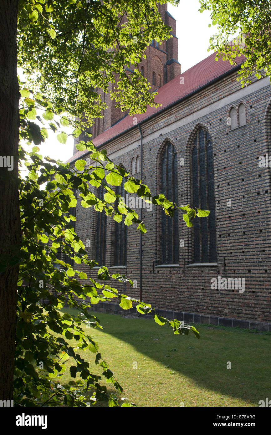 cathedral of st. peter at schleswig, schleswig-flensburg district, schleswig-holstein, germany - Stock Image