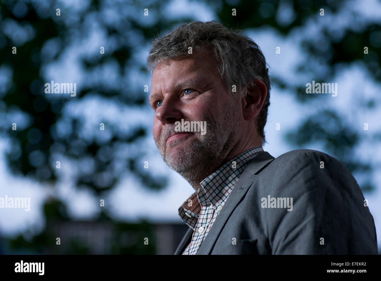 Jan Arnald is a Swedish novelist and literary critic appears at the Edinburgh Book Festival. Also writes as Arne Stock Photo