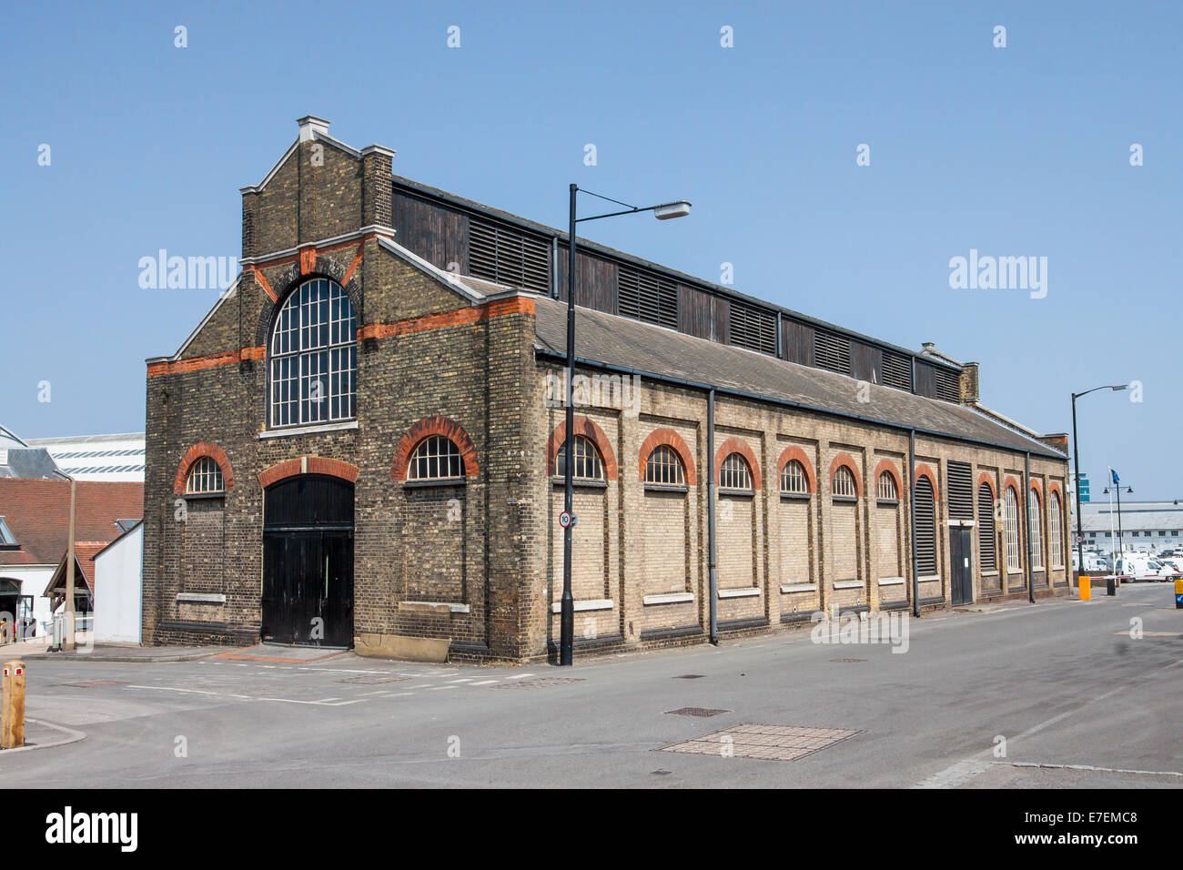 The Smithery Chatham Historic Dockyard Kent UK - Stock Image