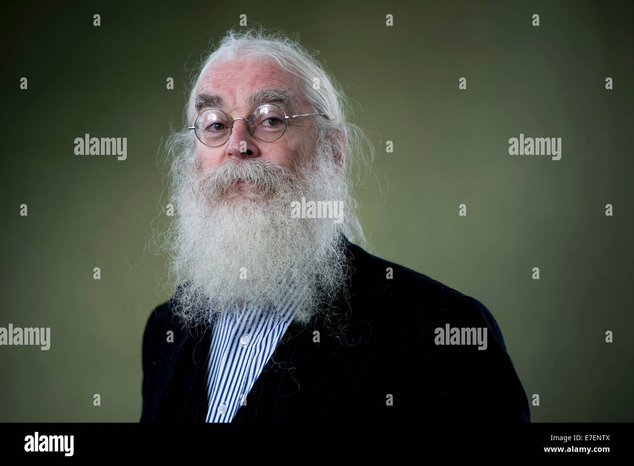 British archaeologist and Assyriologist Irving Finkel appears at the Edinburgh International Book Festival. - Stock Image