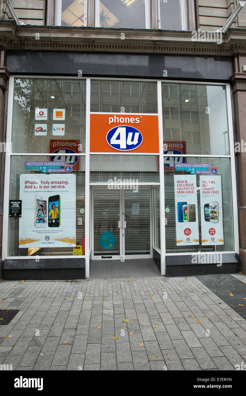 Mobile Phones & Accessories in Belfast. Phones 4u is located at 6 Castle Lane, Belfast, City Of Belfast. View location map, opening times and customer reviews.