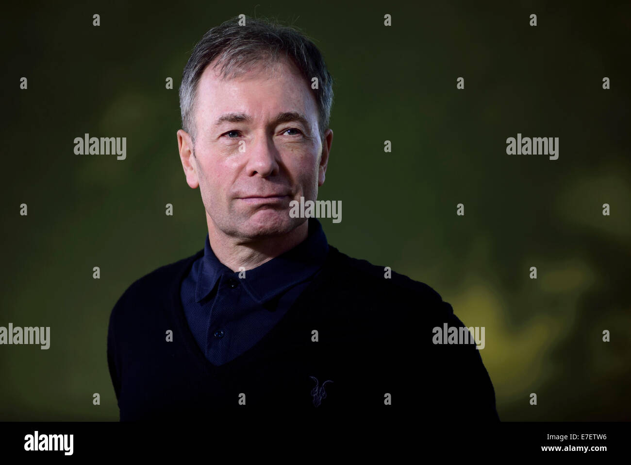 British journalist broadcaster and author Tony Parsons appears at the Edinburgh International Book Festival. - Stock Image