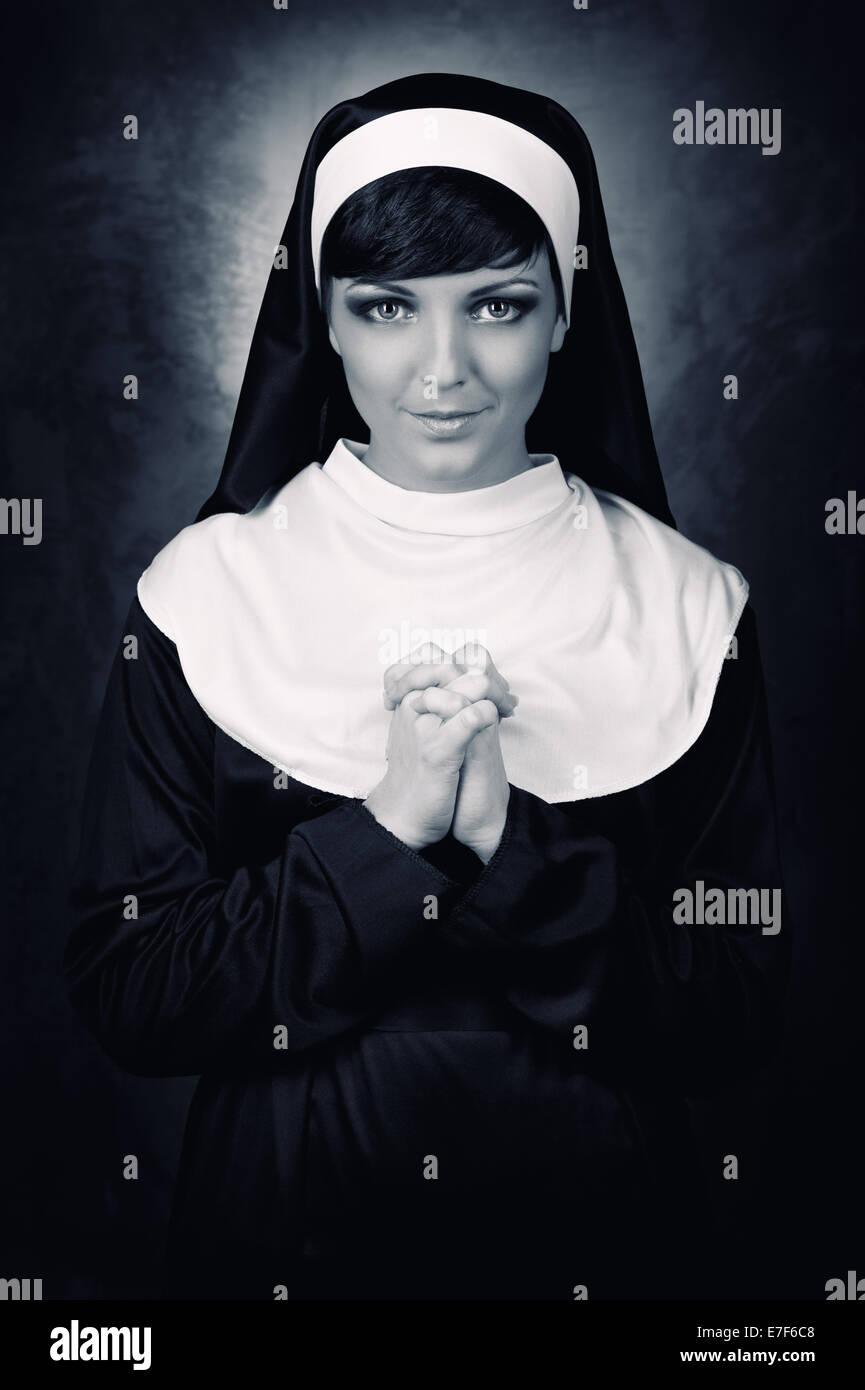 Nun - Stock Image