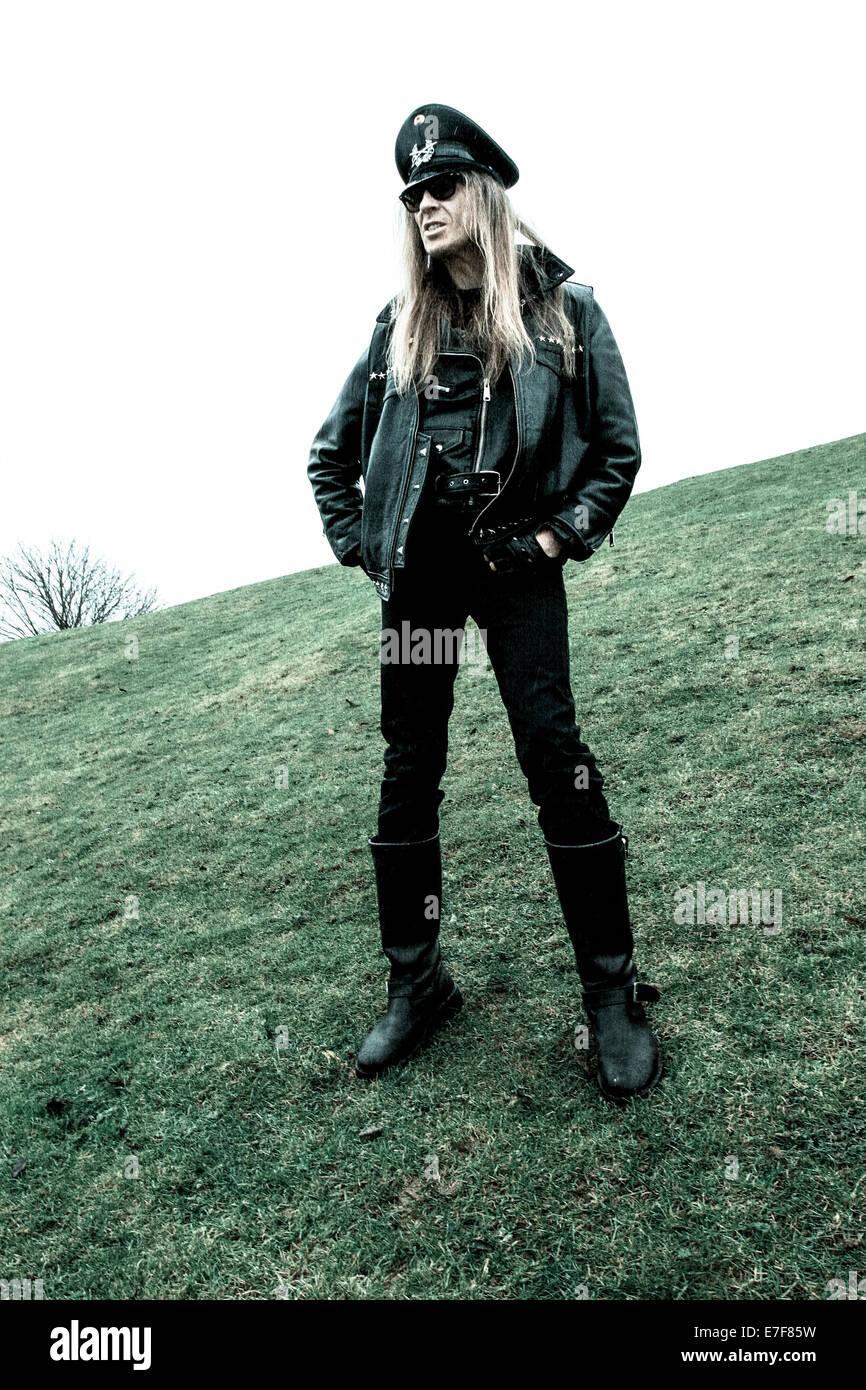 Julian David Cope is an English rock musician, author. - Stock Image