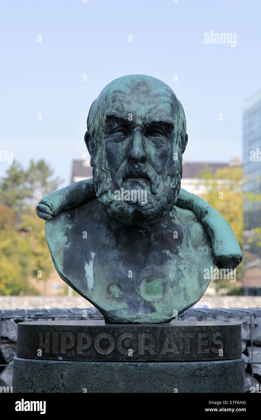 Hippocrates of Cos Hippokrates of Kos.460 – 370.ancient Greek physician - Stock Image