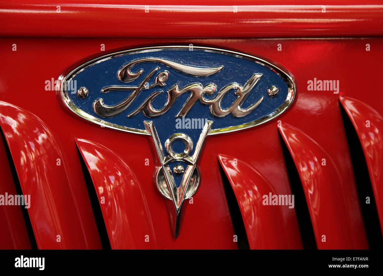 Ford Badge Emblem Icon Symbol Stock Photos Ford Badge Emblem Icon