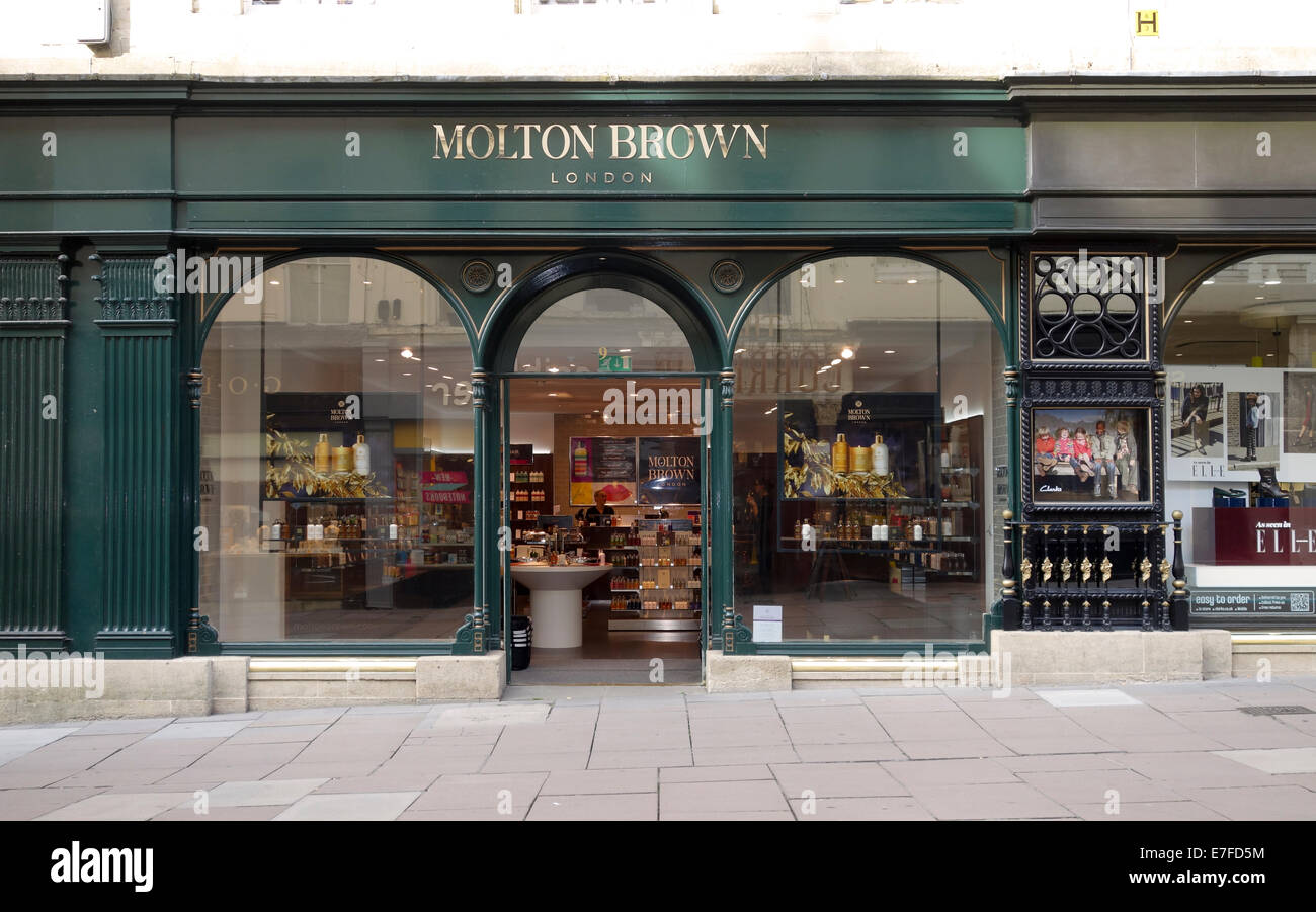 Molton Brown store in Bath Somerset - Stock Image