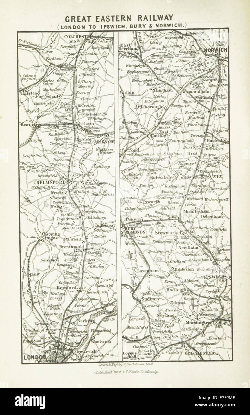 EW(1884) p.678 - Great Eastern Railway - London to Ipswich,