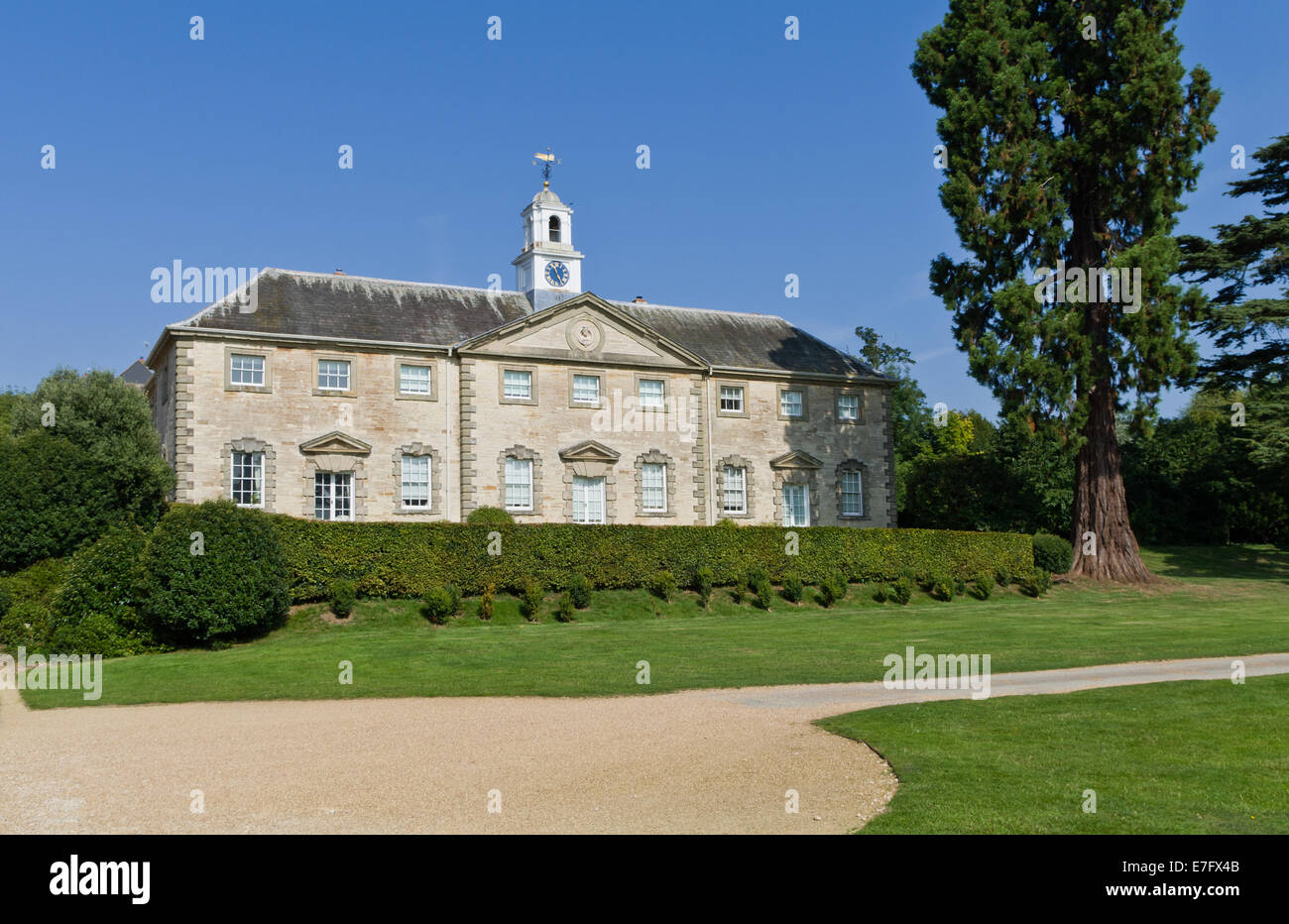 The Coach House, an historic building, situated in the grounds of the Compton Verney estate, Warwickshire. - Stock Image