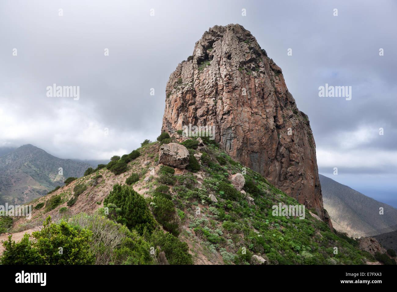 La Gomera - Roque El Cano - Stock Image