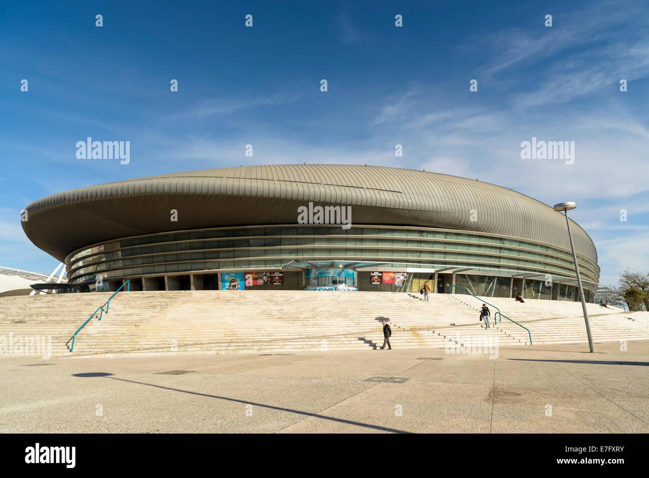 Atlantic Pavilion, Parque das Nacoes, Lisbon, Portugal, Europe - Stock Image
