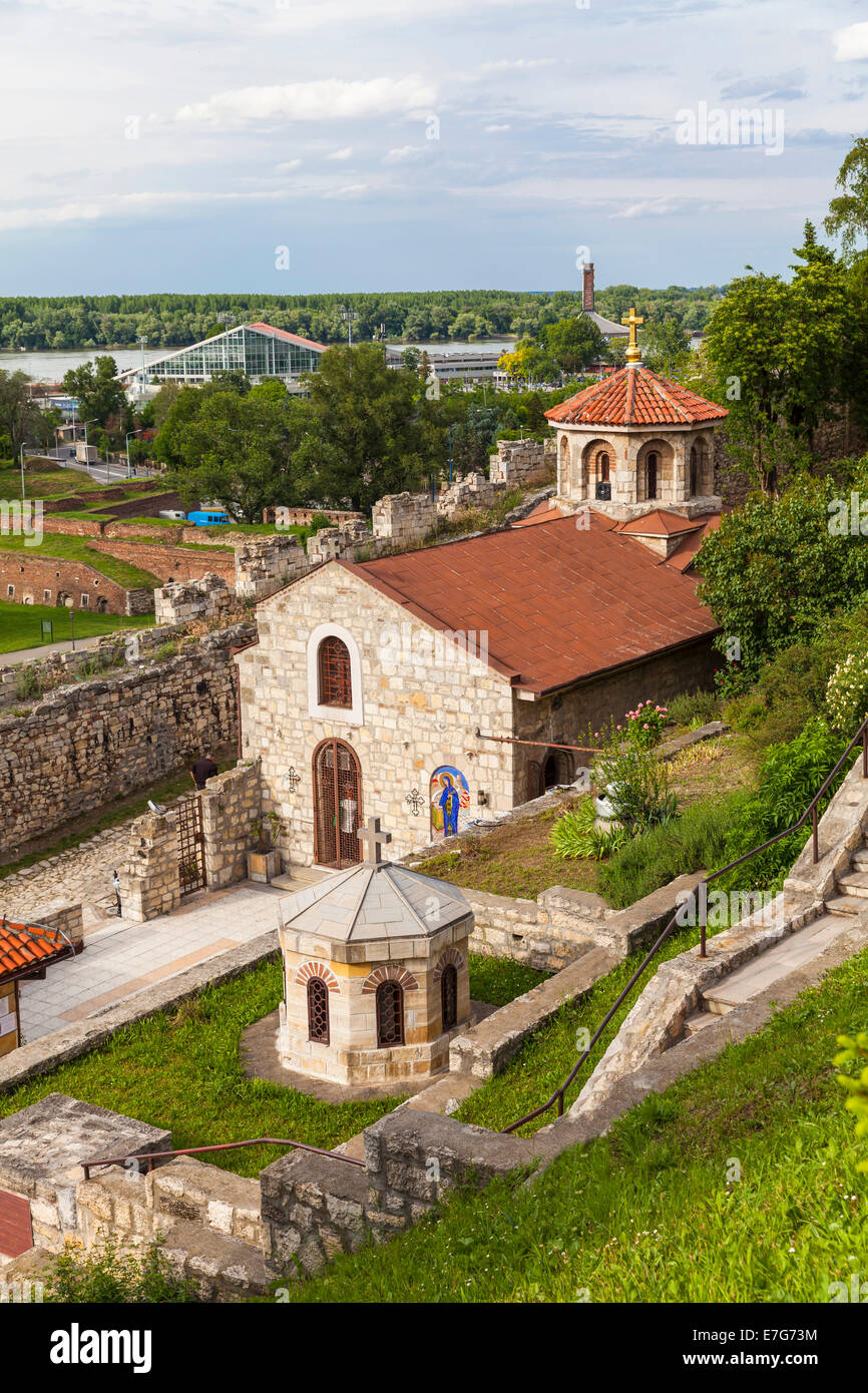 Belgrade Fortress, Kalemegdan, Belgrade, Serbia - Stock Image