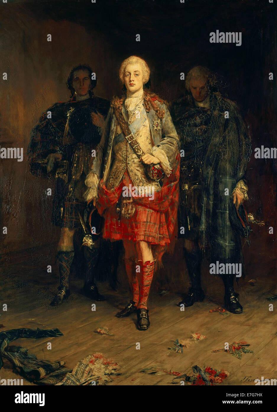 Bonnie Prince Charlie - Stock Image