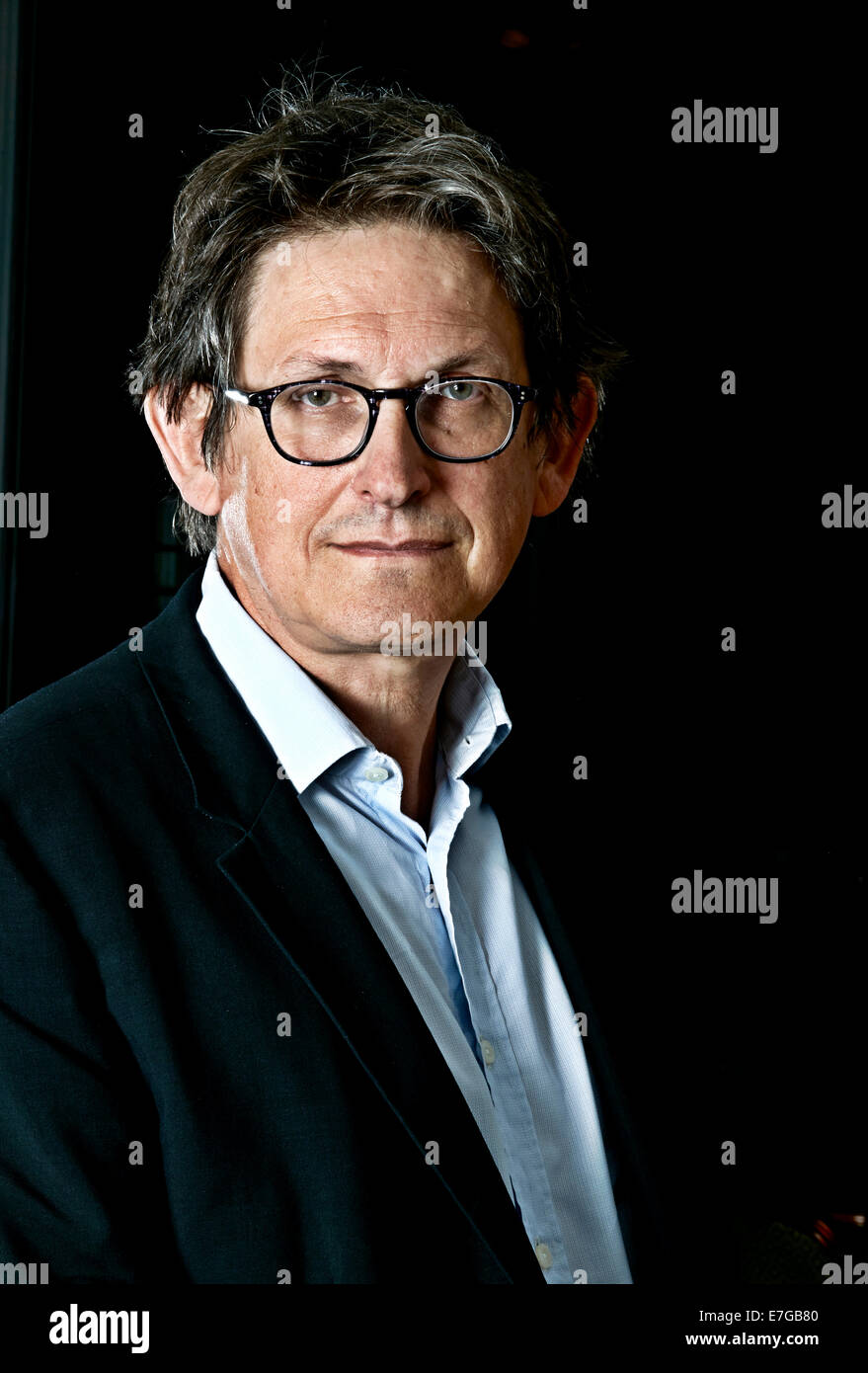 ALAN RUSBRIDGER at the Oldie Literary lunch 03/09/13 - Stock Image