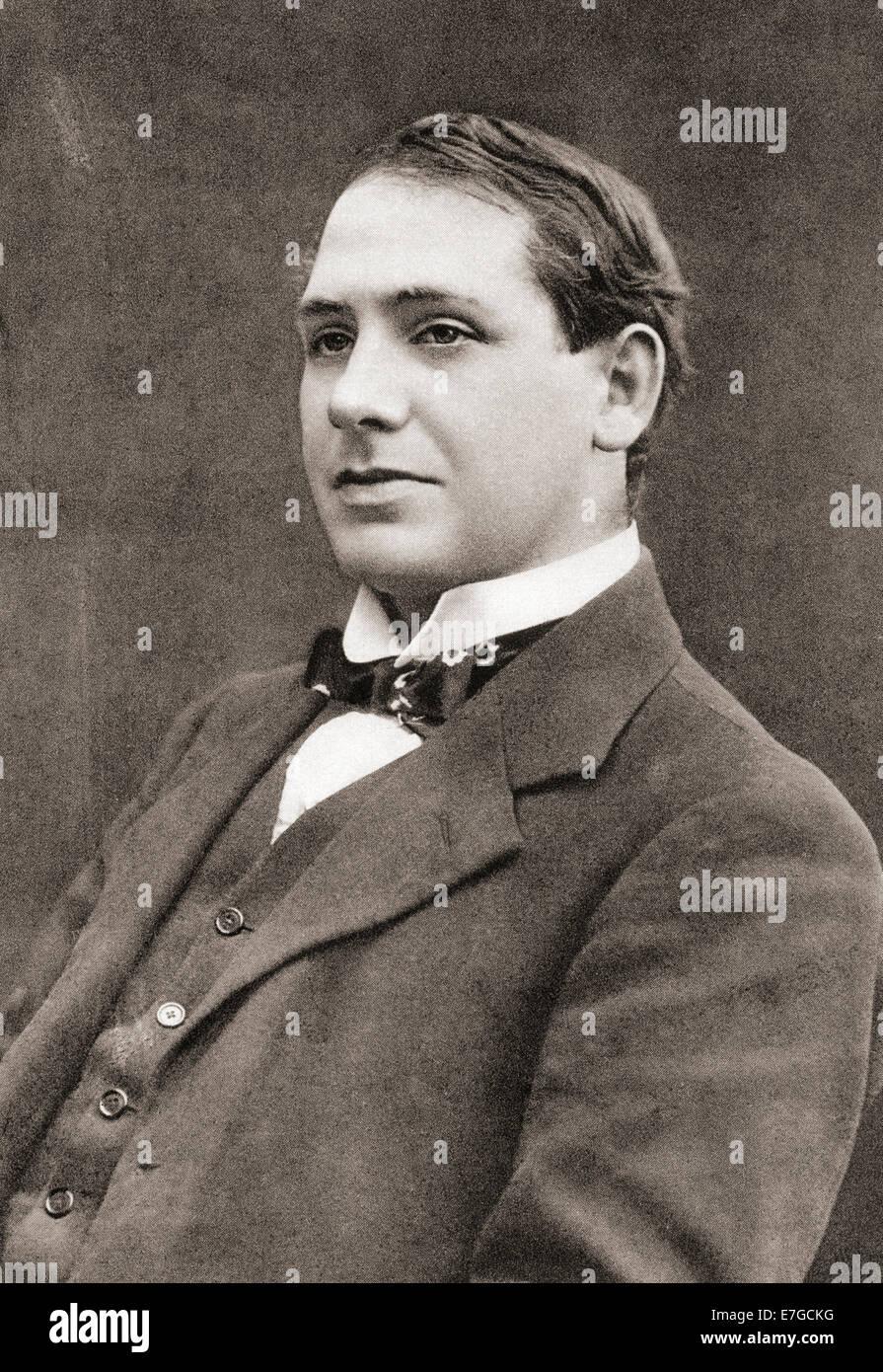 Thomas Michael 'Tom' Kettle, 1880 – 1916.  Irish economist, journalist, barrister, writer, poet, soldier - Stock Image